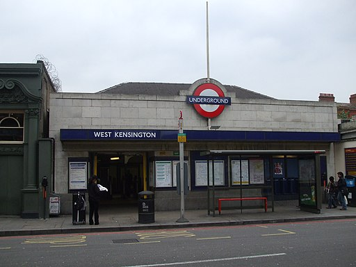 West Kensington stn building