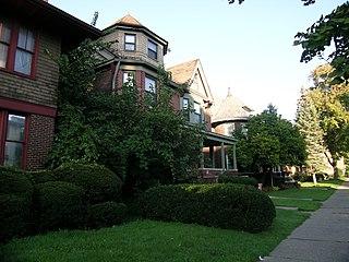 West Village, Detroit neighborhood in Detroit, Michigan, USA