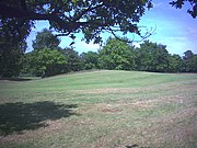 West end of Caesar's Camp, Wimbledon Common. - geograph.org.uk - 20689