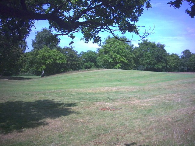 West end of Caesar%27s Camp, Wimbledon Common. - geograph.org.uk - 20689