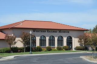 Western Railway Museum Railroad museum in Suisun City, California