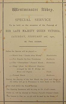 Funeral of Queen Victoria - Wikipedia
