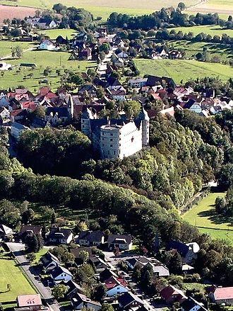 Wewelsburg - Aerial view