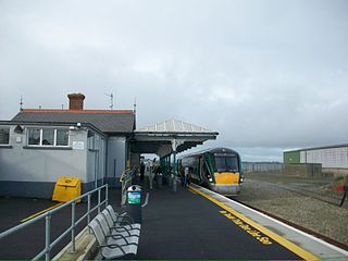 Wexford railway station Railway station in Wexford Town.