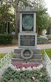 Ehrengrab auf dem Wiener Zentralfriedhof (Quelle: Wikimedia)