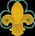 WikiProject Scouting fleur-de-lis trefoil.png