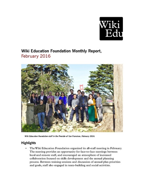 File:Wiki Education Foundation Monthly Report 2016-02.pdf