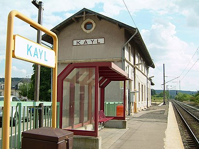 How to get to Gare Kayl with public transit - About the place