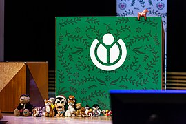 Wikimania Stockholm 2019-08-18 closing ceremony 27 MW.jpg