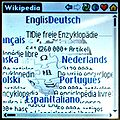 Wikipedia.org front page on Tungsten C with PalmSource Web Browser 2.0.jpg