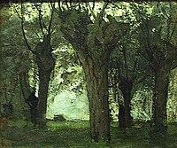 Wilgenbomen aan het Gein, Piet Mondriaan, 1903.jpg
