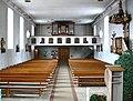Wilhelmskirch Pfarrkirche Blick zur Orgel.jpg