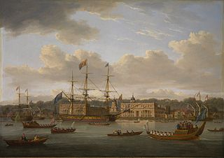 The Return of George IV to Greenwich from Scotland