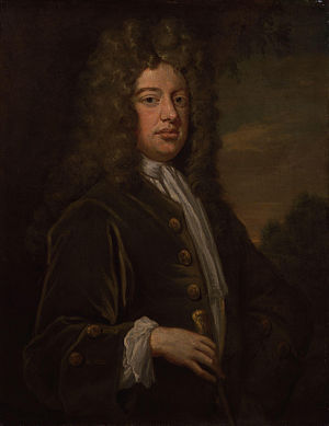 William Walsh (poet) - William Walsh, by Sir Godfrey Kneller, Bt.