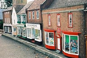 Wimborne Model Town - Image: Wimborne model town, High Street geograph.org.uk 539997