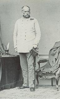 Franz Graf von Wimpffen Austrian general and admiral