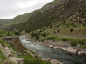 Wind River Canyon - Wind River Canyon.