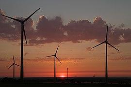 Windpark Ostbüren Sonnenuntergang IMGP2174 smial wp.jpg