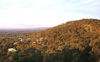 Belair, South Australia - Part of the view north from Windy Point