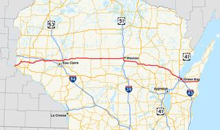 Wisconsin Highway 29 Highway in Wisconsin