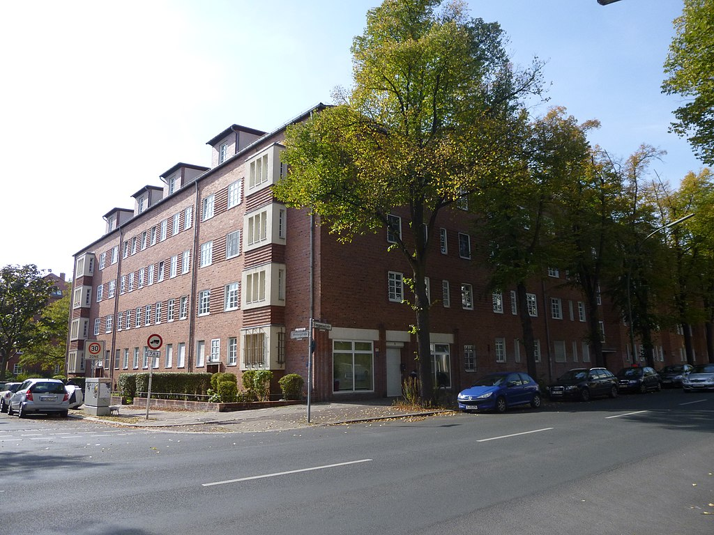 datei wohnanlage germaniastr 7 9 berlin tempelhof jpg wikipedia. Black Bedroom Furniture Sets. Home Design Ideas