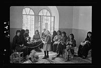 Women's Institute J'lem (i.e., Jerusalem). Arab women knitting in Old City LOC matpc.17793.jpg