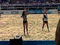 Women's beach volleyball, Horse Guards Parade London July 2011 2.jpg