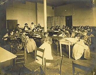 The Miller School of Albemarle - Women at Miller School in 1891