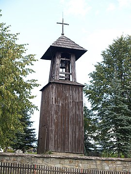 Wooden bell tower, Sihelné, C-P9096396.jpg