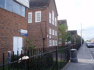 Woolston, Southampton - Woolston School, October 2007