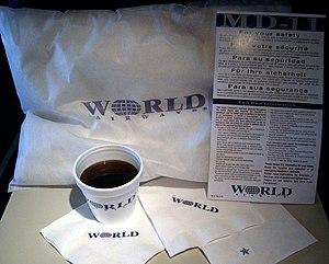 World Airways - World Airways passenger amenities