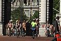 World Naked Bike Ride in London on The Mall, June 2013 (3).JPG