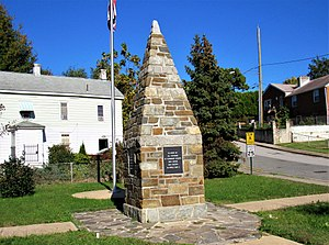 Fairmount Heights, Maryland - World War II Monument