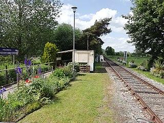 Wymondham Abbey railway station Railway station in Norfolk, England