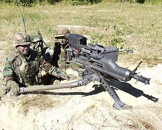 Autocannon - Image: XM307 01