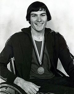 Xxxx72 - Ray Barrett with Paralympic bronze medal - 3b - scan.jpg