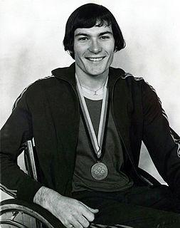 Ray Barrett (athlete) Australian Paralympic athlete