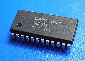 Yamaha YM2612 - Yamaha YM2612