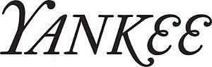 Yankee (magazine) - Image: Yankee Magazine Logo
