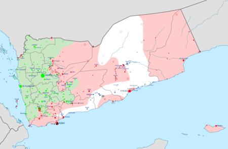 Yemen war detailed map.png