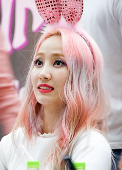 Yenny at a fanmeet in July 2016 05.jpg