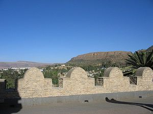 Tigray Province - View of Tigray from Emperor Yohannes' Palace