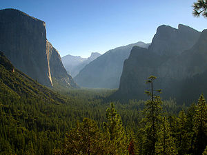 Morning - Yosemite Valley in the morning