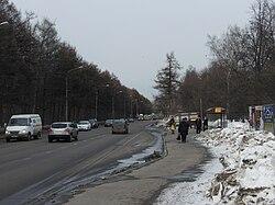 Yunosti street moscow russia 001