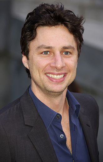 Zach Braff - Braff at the 2011 Tribeca Film Festival Vanity Fair party