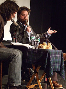 Zach galifianakis wikipedia galifianakis on inside joke in new york city in 2006 voltagebd Image collections