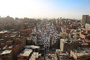 EL Seed - Zaraeeb in Cairo, Egypt, 2016