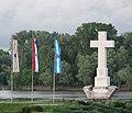 Zastave na ušću Vuke.JPG
