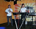 Zenon Martyniuk and Ryszard Warot - Akcent (Polish music band) 02.JPG