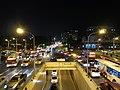 Zhongxiao Zhongshan Road intersection, Taipei City 20131203 night.jpg